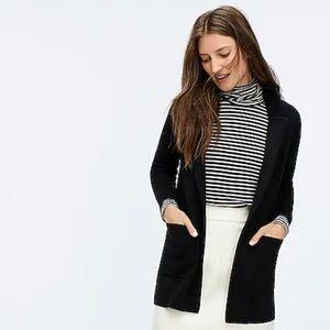J Crew Sophie Open Front Sweater Blazer - S